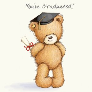Graduation Card  For Exams